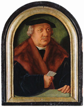Portrait of Petrus von Clapis,<br>Barthel Bruyn The Elder