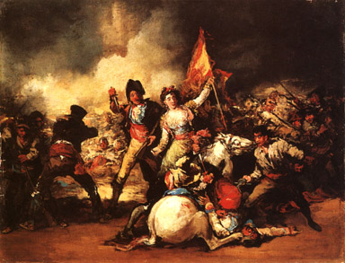 The Revolution (8 May 1808),<br>Eugenio Velázquez